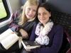 Im Zug nach München