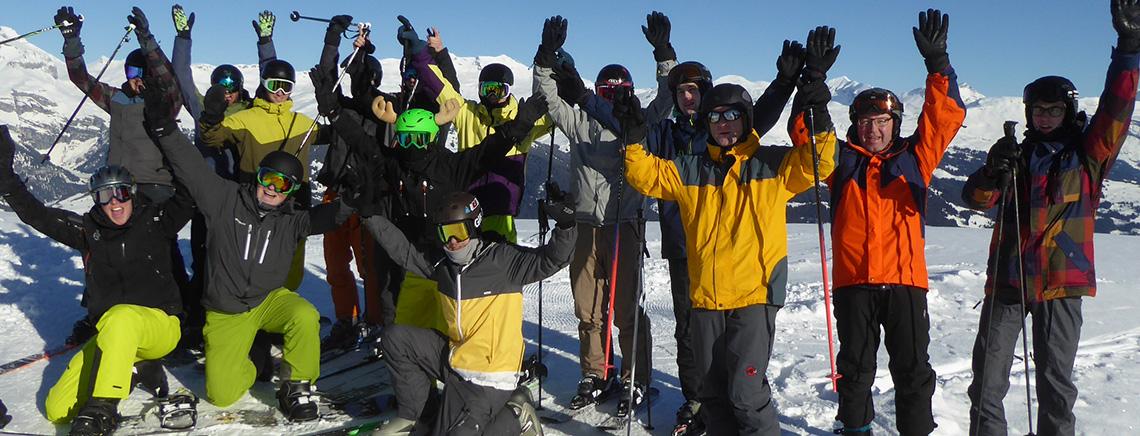 Turnverein Skiweekend Obersaxen