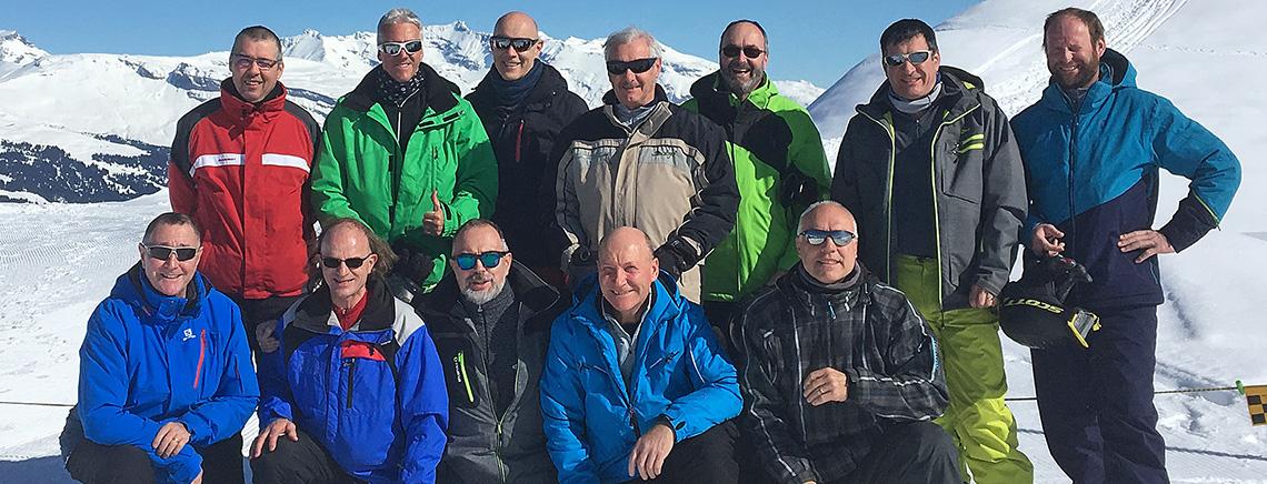 Perfekt gelungenes Skiweekend der Männerriege Zetzwil